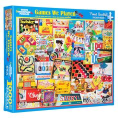 Get Games We Played Puzzle online or find other Puzzles products from HobbyLobby.com