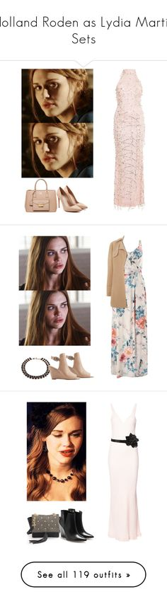 """""""Holland Roden as Lydia Martin Sets"""" by demiwitch-of-mischief ❤ liked on Polyvore featuring TeenWolf, LydiaMartin, HollandRoden, Prada, Alexander McQueen, Monsoon, Made Her Think, Charlotte Russe, Vince Camuto and Haider Ackermann"""