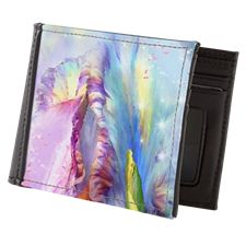 Abstract mystical Mens Wallet