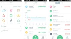 A pretty app to track expenses. Nice if it had import functions and multi-device mobile/web access.