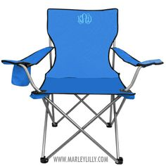 Monogrammed Tailgate Chair