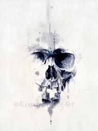 Image result for skull painting
