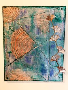 Ohne Pinsel zu malen ist oftmals gar nicht so einfach. Aber auch dieser Lernprozess darf zur Ausbildung gehören. Beachtlich, was daraus entstehen kann! Bilder können Geschichten erzählen. Mit Farbe, Form und unseren Assoziationen finden wir zum Bild unsere eigene Beziehung, unsere Wahrnehmung, unsere Wahrheit. Wie die der Künstlerin lautet, muss noch herausgefunden werden. #Kunstwerk Form, Abstract, Artwork, Painting, Palette Knife, Brushes, Faith, Simple, Art Therapy