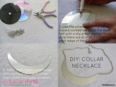 CD'den kolye yapımı | Takı Tasarım | Pek Marifetli!