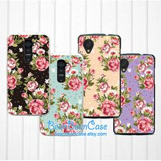 Lg Google Nexus 5 case Nexus 4 case LG G2 case retro floral flower case by BeanBeanCase, $9.95