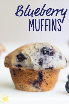 EAT: Blueberry Muffins #blueberry #muffins #yummy #recipe