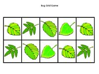 Roll a dice, put the correct number of bugs onto the leaves.
