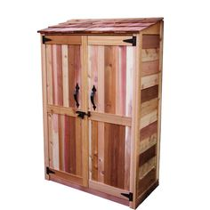 Outdoor Living Today 4 ft. x 2 ft. Cedar Garden Storage Shed-GC42 - The Home Depot