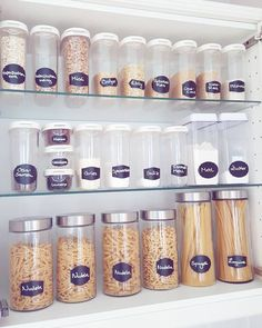 24 ingenious tips for storage containers in the kitchen 24 Genius Tips For Food Storage Containers In The Kitchen - Own Kitchen Pantry Kitchen Storage Containers, Kitchen Organization Pantry, Diy Kitchen Storage, Diy Storage, Storage Drawers, Storage Ideas, Pantry Ideas, Food Containers, Storage Baskets