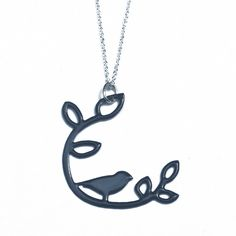 Perch Necklace Navy