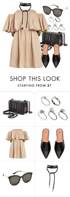 """""""Untitled #2354"""" by annielizjung ❤ liked on Polyvore featuring Rebecca Minkoff, ASOS and Gentle Monster"""