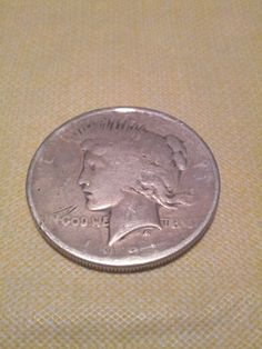 1921 Peace Dollar Key Date in plastic case by DrewsCollectibles, $53.00 #peace #coins #dollar