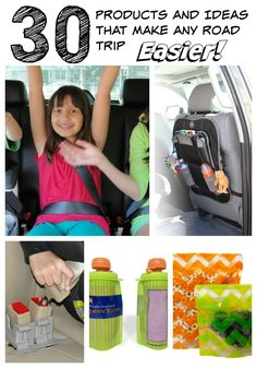 30 products and ideas that make family road trips easier