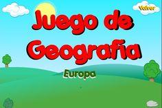 """""""Juego de Geografía: Europa"""", de la Junta de Castilla y León, prueba tus conocimientos en cuestión de localización de naciones europeas en el mapa. Con registro de aciertos y errores. Para competir contigo mismo y con los demás."""