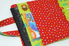 Kids Crayon & Coloring Book Carrier