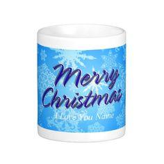Snowflake Art 10 Mug Options