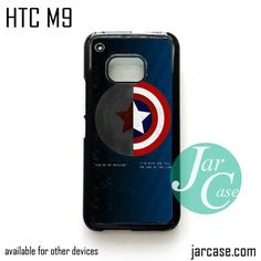 Bucky VS Steve Roger - Z Phone Case for HTC One M9 case and other HTC Devices