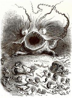 illustrality:  Louis Henri Brévière, 1797-1869  (via eyelessspider)