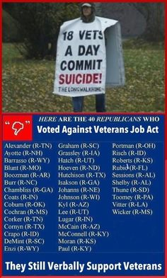 The republican congress are hoping Benghazi will distract you from their Veterans Job Act vote. If your a veteran and you voted for one of these guys, why?