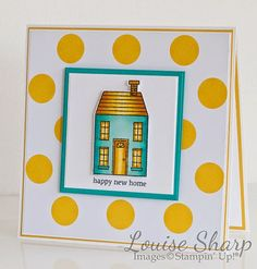 By Louise Sharp | Just Add Ink - Holiday Home | Stampin' Up!