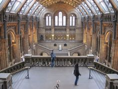 National History Museum, London my favorite building but like the Grand Canyon no pictures do it justice no matter how good you just have to see it to believe it especially the outside