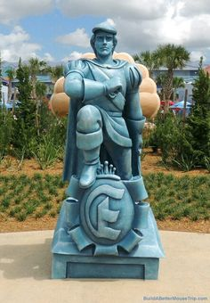 Principe Eric Statua a Disneyland