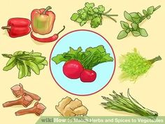 Image titled Match Herbs and Spices to Vegetables Step 3