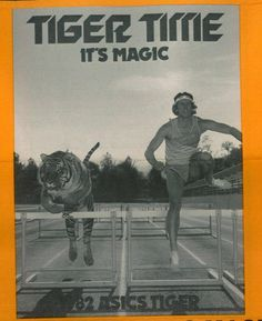 #Tiger Time: It's #Magic! From our 1982 #OnitsukaTiger newsletter.
