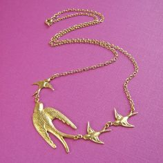 Follow The Leader Necklace - too pretty <3