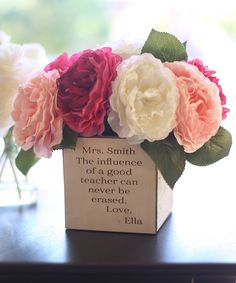 Take a look at this 'Influence' Personalized Planter today!