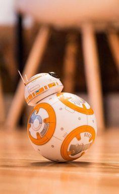 The Star Wars BB-8 droid: