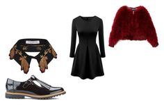 """""""."""" by vania-viana ❤ liked on Polyvore featuring WithChic, Clarks and VIVETTA"""