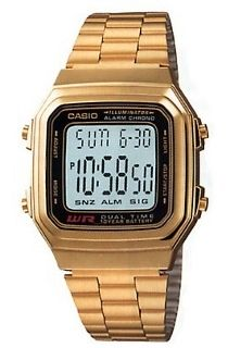 Casio G-Series Stainless steel Band Gold Men's Watch Casio Digital, Mens Digital Watches, Watches For Men, Wrist Watches, Men's Watches, Casio Classic, Stainless Steel Watch, Stainless Steel Bracelet, Vintage Watches