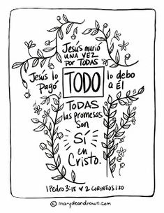 700 Bible Verse Coloring Pages In Spanish For Free