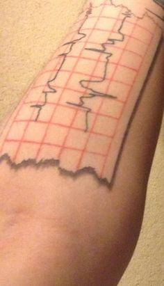 Trendy Ideas For Medical Science Tattoo Medical Laboratory Science, Biomedical Science, Ecg Tattoo, Cool Wrist Tattoos, Science Tattoos, Science Crafts, Mini Tattoos, Future Tattoos, Tatting