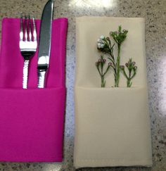 I received several emails from readers who wanted to know how to make the pocket fold on the napkins I used for Peggy's birthday dinner. Making them is easy as can be. Here is your step-by-s…
