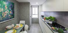 Cómo decorar las cocinas pequeñas alargadas - https://www.decoora.com/como-decorar-las-cocinas-pequenas-alargadas/