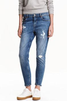 Boyfriend Low Trashed Jeans | H&M