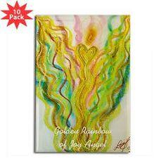 Golden Rainbow of Joy Magnet (10 pack)
