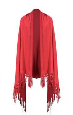 Γυναικείο γιλέκο με κρόσια  GILE-0336-bu Γιλέκα - Πανωφόρια - Γυναίκα Kimono Top, Tops, Women, Fashion, Moda, Fashion Styles, Fashion Illustrations, Woman