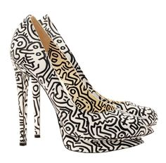 Pair of Iconic #KeithHaring Shoes