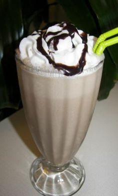LIGHT Mocha Frappuccino Shake: 1/3 cup coffee, brewed at double strength 1/4 cup milk 1/2 teaspoon Splenda sugar substitute 3/4 tablespoon sugar-free chocolate syrup 1 cup sugar-free vanilla ice cream 1/2 to taste whipped light cream (I used canned whipped cream) 1/2 to taste additional sugar-free chocolate syrup. 28 cals, 1g fat, 2g carb, 0g sugar, 1.4g protein.