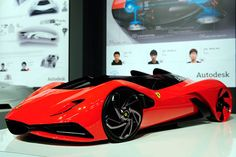 The Hybrid Ferrari of Tomorrow / Kim Cheon Ju, Ahn Dre and Lee Sahngseok took first place in the Ferrari World Design Contest in Maranello, Italy.