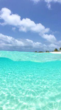 Beautiful Ocean Pictures, Beautiful Photos Of Nature, Beautiful Beaches, Beautiful Landscapes, Exotic Beaches, Tropical Beaches, Summer Pictures, Beach Pictures, Ocean Beach