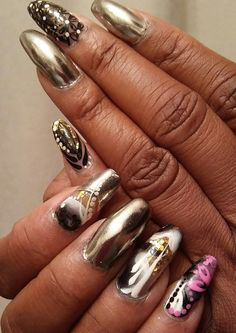Chrome nails 2Groovy Studio