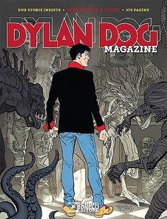 Dal 24 marzo sarà disponibile nelle edicole italiane il nuovo Dylan Dog Magazine 2015...  #DylanDog