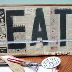 How to create a vintage sign with decoup...