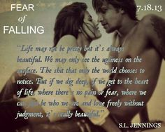 "Kami & Blaine From ""Fear of Falling by Syreeta Jennings Good Books, Books To Read, My Books, Reading Quotes, Book Quotes, Fear Of Falling, Heart Of Life, Book Trailers, Book Suggestions"
