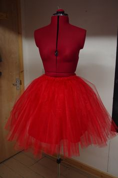 Just finished making this absolutely gorgeous tulle skirt, so wish I was an eight year old again.. or a ballerina!