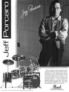 Remembering Jeff Porcaro | Pearl Drums